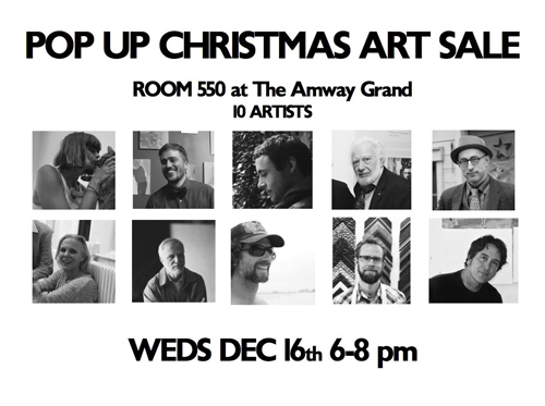 Pop Up Christmas Art Sale at The Amway Grand