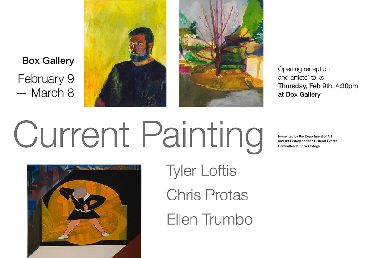 Current Painting at Box Gallery February 9 - March 8
