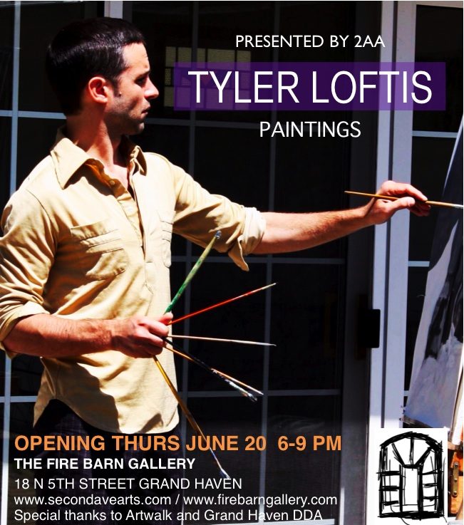 Tyler Loftis at Fire Barn Gallery